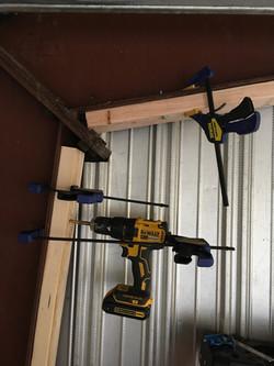 warehouse framing dead wood