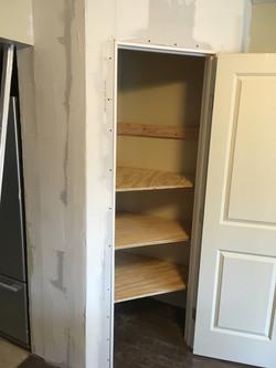 closet pantry shelves