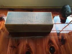 pipe box epoxy counter
