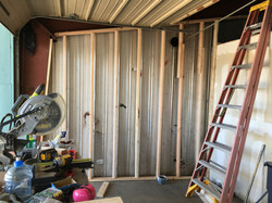 warehouse framing for insulation