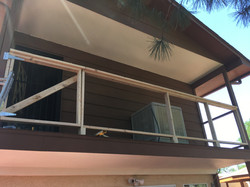 railing framing