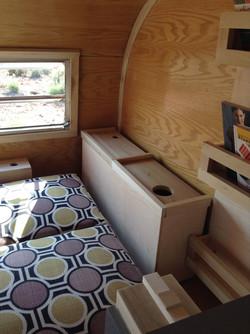 camper interior curved trim