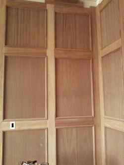 Durham wainscot hidden door