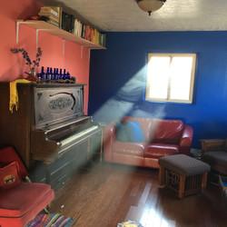 oak floor_paint_shelf