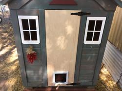 cat house door