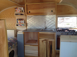 Camper interior/curved trim