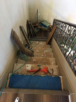 stair demo progress