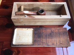 pipe box with divet
