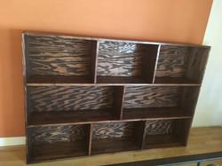 stain grade bookshelf