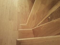 Durham mansion stair burst pattern
