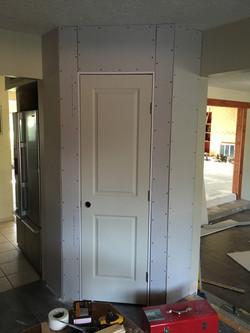 closet pantry addition