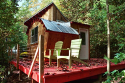 Siding, deck, framing Carolina Hills WNC magazine photo by JMJ