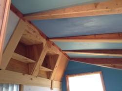 mobile recording studio interior ceiling