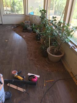 curved flooring