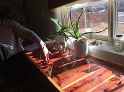 epoxy counter red cedar(1)