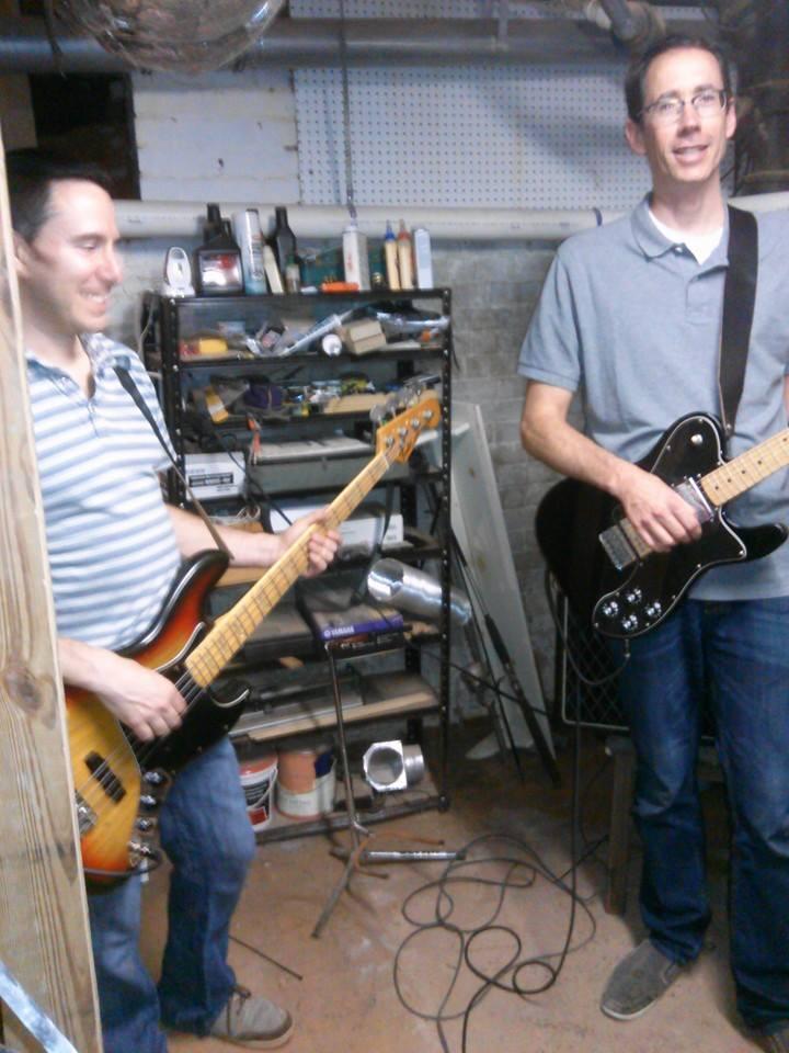 Adam Roth & Taylor Short at Rels HQ aka Taylor's basement