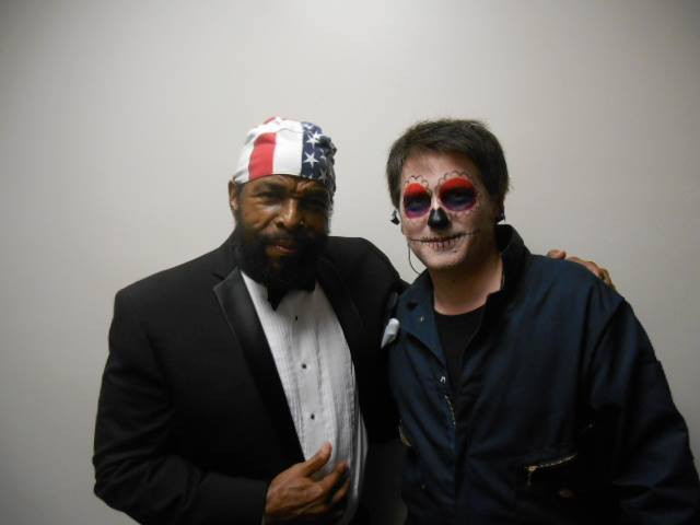 Me and Mr T