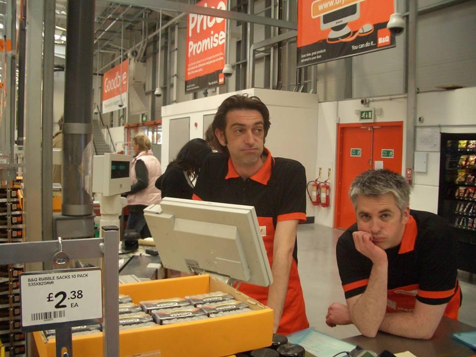 Bert & Mark hard at work in 2005