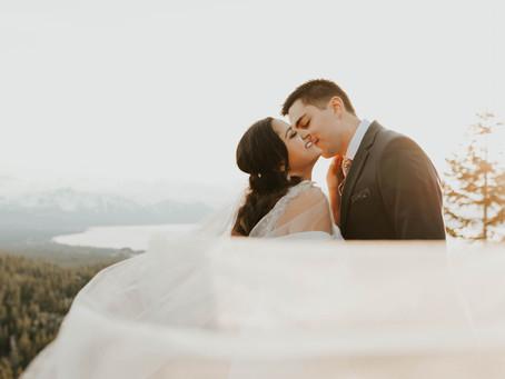 INTIMATE WEDDING IN LAKE TAHOE, NEVADA   Tahoe Wedding Photographer