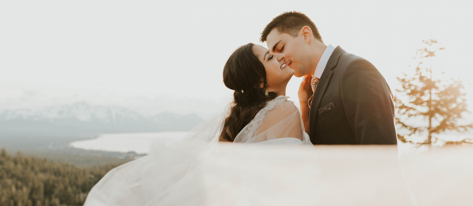 INTIMATE WEDDING IN LAKE TAHOE, NEVADA | Tahoe Wedding Photographer