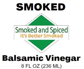 Smoked Balsamic Vinegar