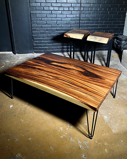 Acacia Coffee | Cantilever Table Set
