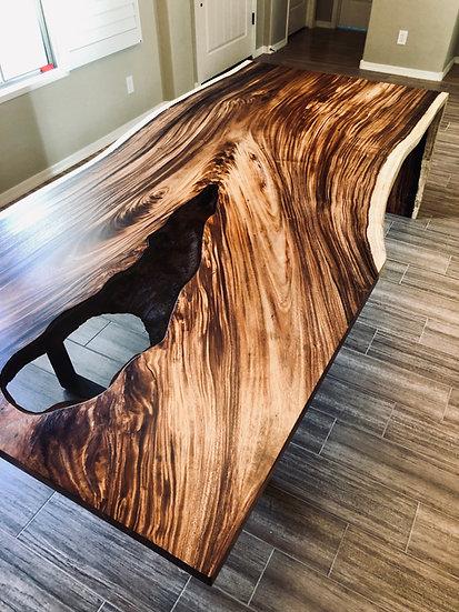 Monkey Pod | Waterfall Dining Table