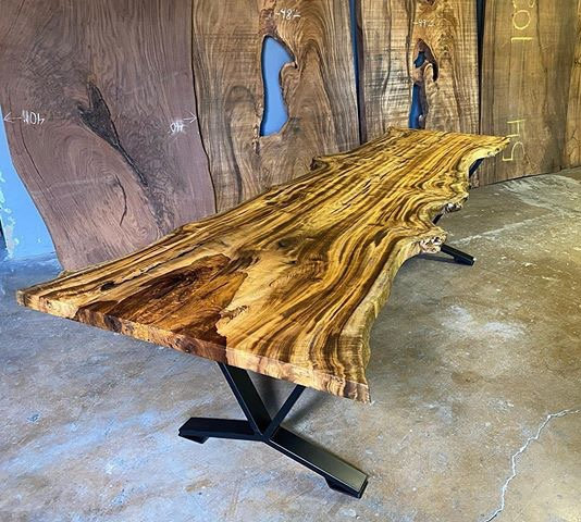 Myrtle | Live Edge Dining Table