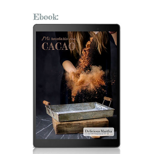 Mi recetario con cacao (Ebook)
