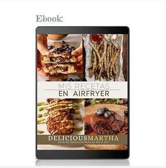 Ebook Mis recetas en AIRFRYER