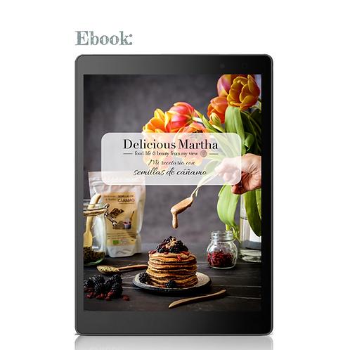 Mi recetario de cáñamo (Ebook)