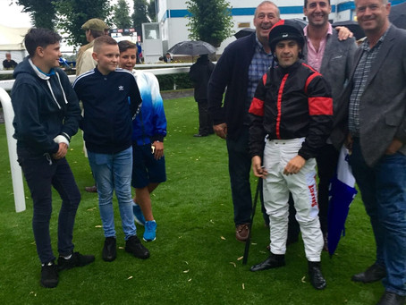 Success a plenty in August - winning combination John Best and Kieren Fox