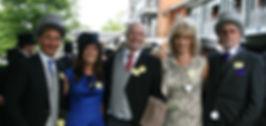 Owners enjoying Royal Ascot