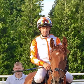 Syndicate horse Malt Teaser coming 2nd at Lingfield (former career)