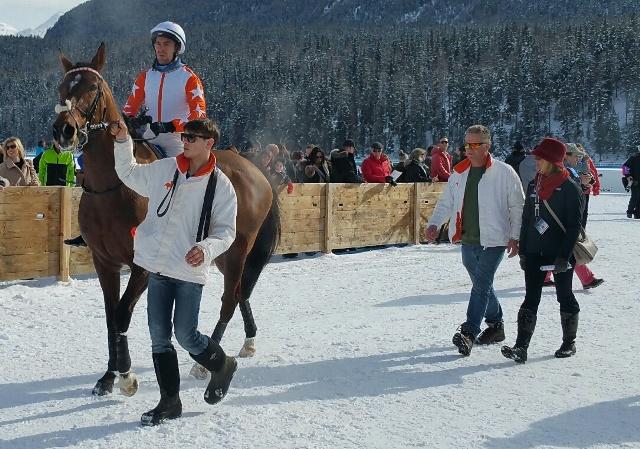 Gung Ho Jack in St Moritz