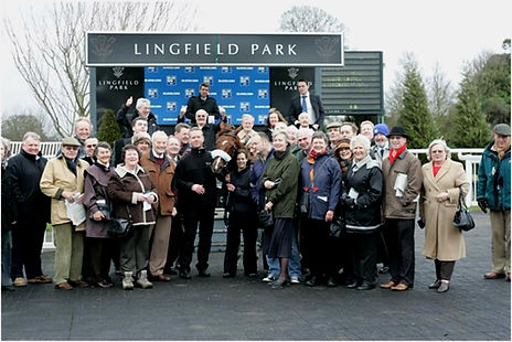 Lingfield Park Owners celebrate win