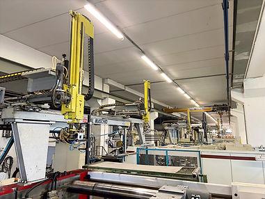 Robot automazione stampaggio materie plastiche