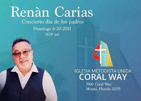 Renan Carias visitando IMU Coral Way