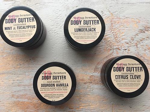 man hand & body butter