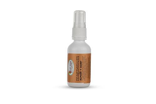 magnesium and botanical sprays: almond & honey