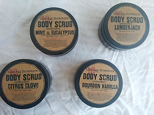 sampler pack: body scrubs