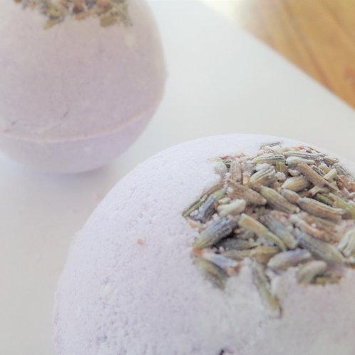 blue egg farmstore relaxing natural lavender bath bomb