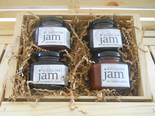 boozy berry jam gift set