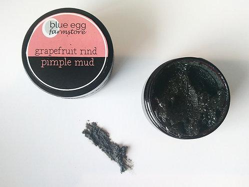 grapefruit rind pimple mud