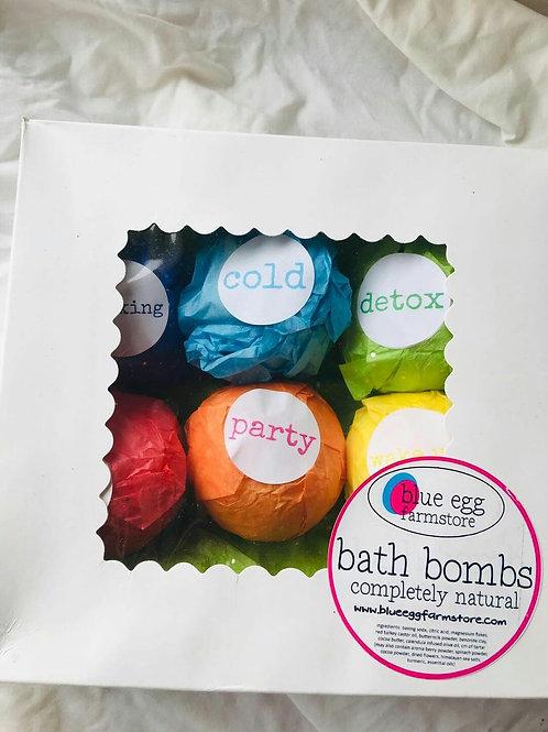 bath bomb boxed set