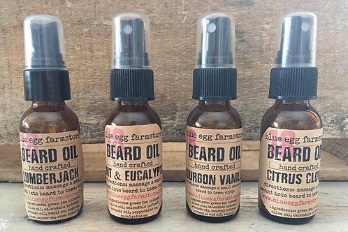 man beard oil