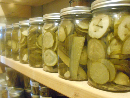 canned pickles...and other inspiring projects