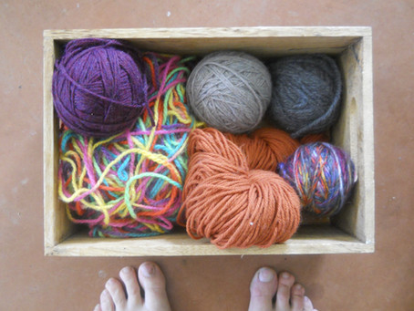 lessons in knitting and what I have learned