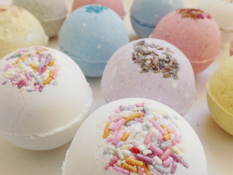 the best completely natural bath bomb recipe...ever.