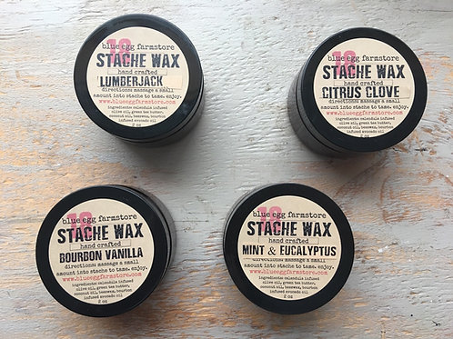 man stache wax